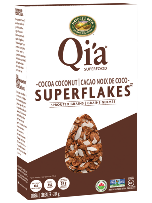 Nature's Path: Qi'a Cocoa Coconut Superflakes (284g)