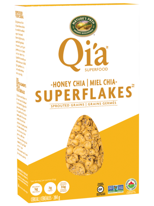 Nature's Path: Qi'a Honey Chia Superflakes (284g)