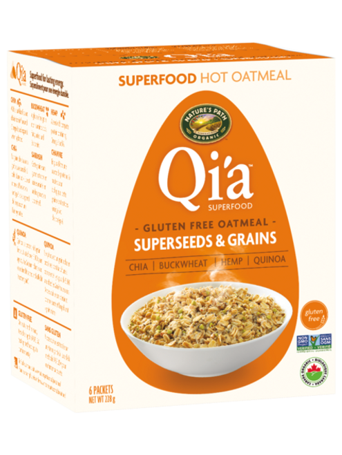 Nature's Path: Qi'a Pure Oats Oatmeal - Superseed & Grains (228g)