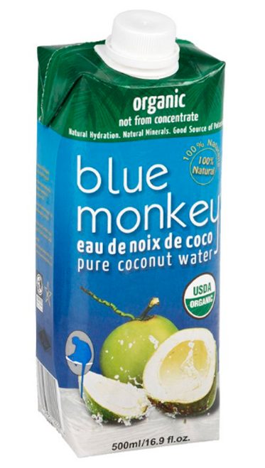 Blue Monkey: Organic Coconut Water (500ml)