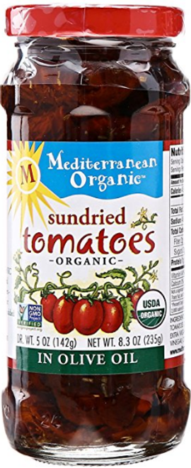 Mediterranean Organic: Sun Dried Tomatoes (250ml)