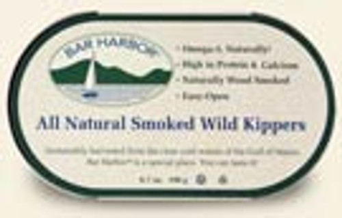 Bar Harbor: Natural Smoked Wild Kippered Herring (190g)