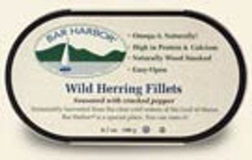 Bar Harbor: Wild Herring FIllets Seasoned With Cracked Pepper (190g)