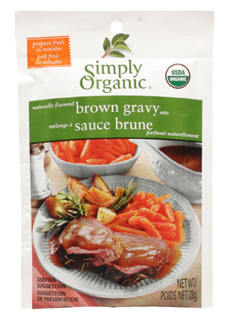 Simply Organic: Brown Gravy Mix (28g)