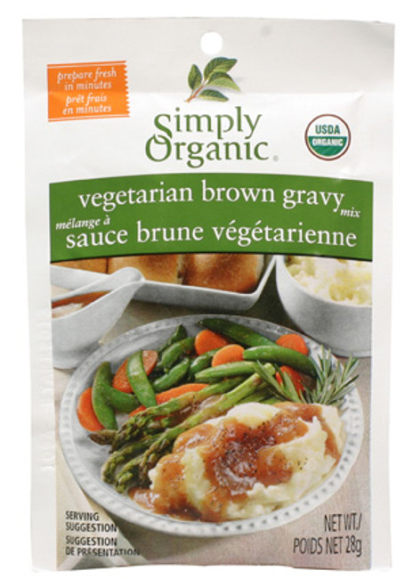 Simply Organic: Vegetarian Brown Gravy