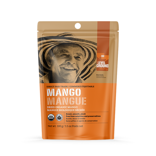 Level Ground Trading: Organic Dried Mango (100g)