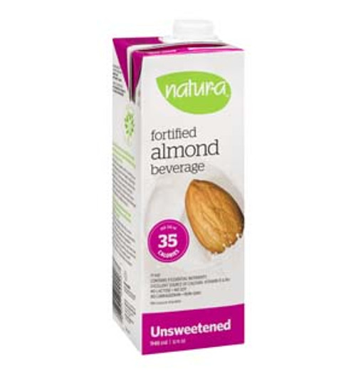 Natura: Almond Beverage Unsweetened (946ml)