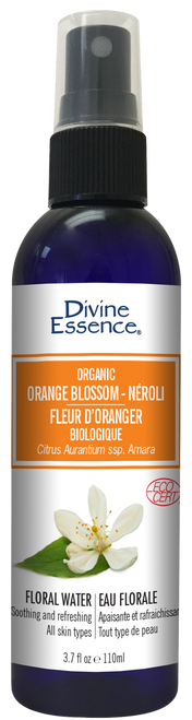 Divine Essence: Organic Orange Blossom Floral Water - Neroli (110ml)