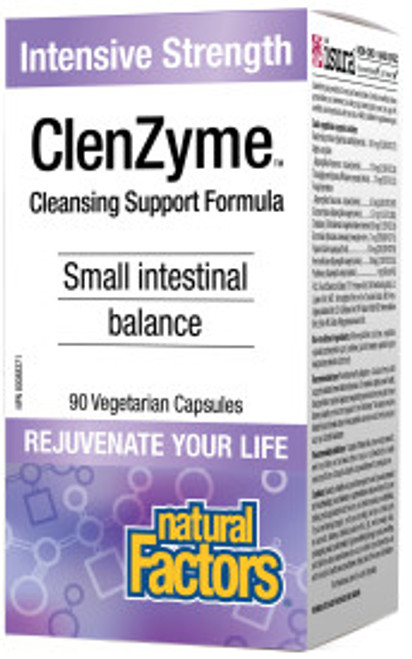 Natural Factors: ClenZyme - Intensive Strength