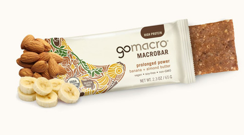 Go Macro: Macro Bar - Banana + Almond Butter Bar (65g)