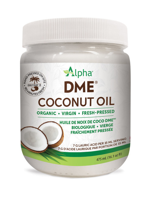 Alpha: DME Organic Virgin Coconut Oil (1.75l)