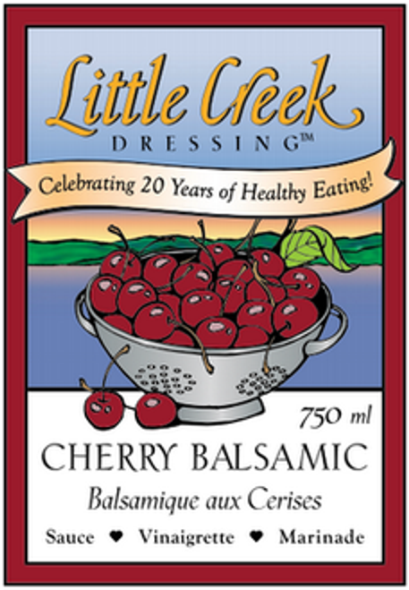 Little Creek Dressing: Cherry Balsamic (750ml)