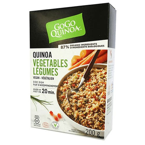 GoGo Quinoa: Quinoa with Vegetables (200g)