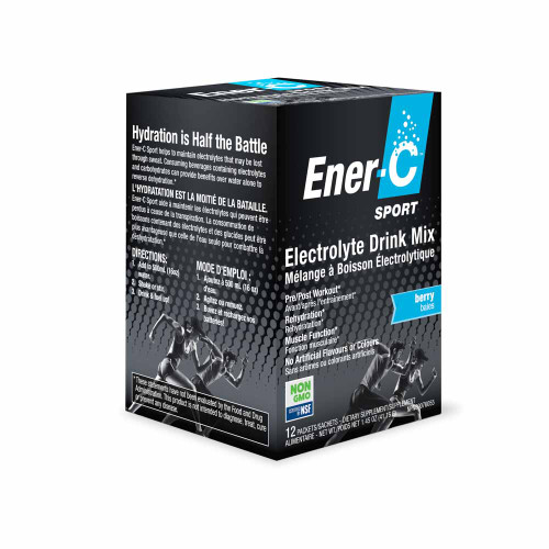 Ener-C: Electrolyte Drink Mix - Mixed Berry (12 Packets)