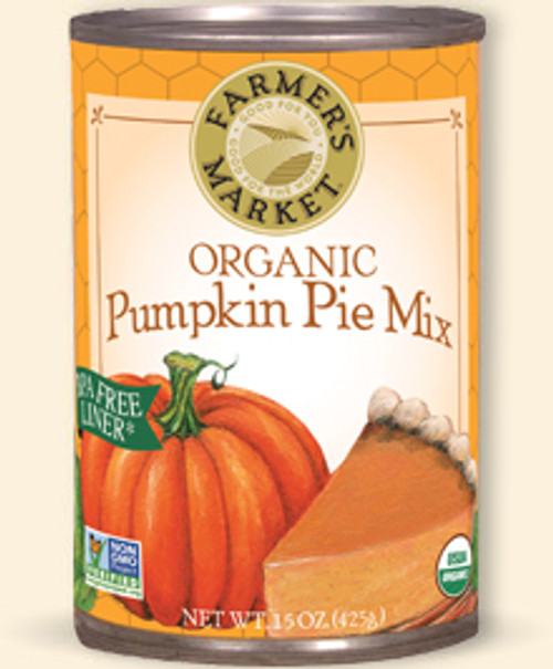 Farmers' Market: Organic Pumpkin Pie Mix (397ml)
