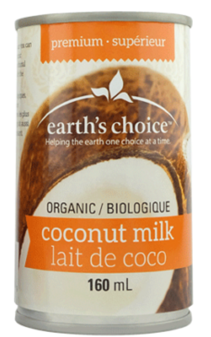 Earth's Choice: Organic Premium Coconut Milk (160ml)