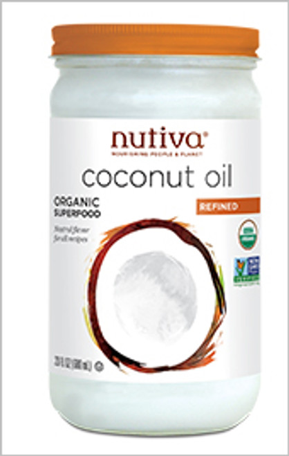 Nutiva: Organic Refined Coconut Oil (860ml)