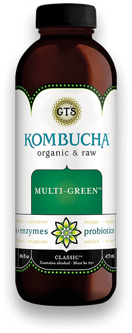 Gt's: Kombucha - Multi-Green (480ml)