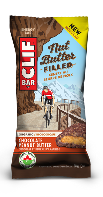 Clif Bar: Organic Nut Butter Filled Bar - Chocolate Peanut Butter