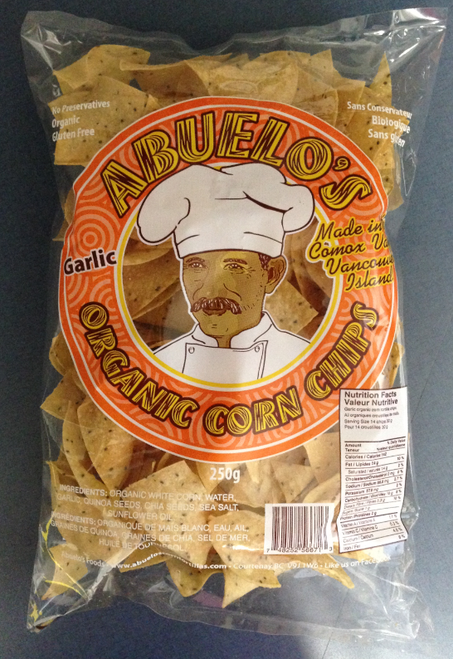 Abuelo's Garlic Corn Chips