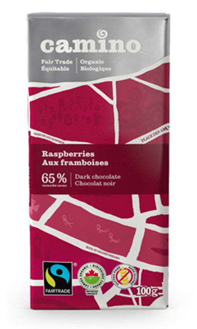 Raspberries Dark Chocolate