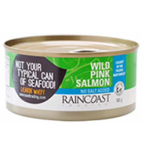 RainCoast Trading: Wild Pink Salmon No Salt Added