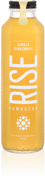 Rise: Kombucha - Ginger (414ml)