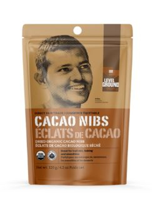 Level Ground Trading: Cacao Nibs (120g)