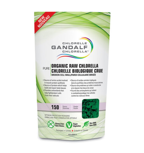 Gandalf: Organic Raw Chlorella (150g)