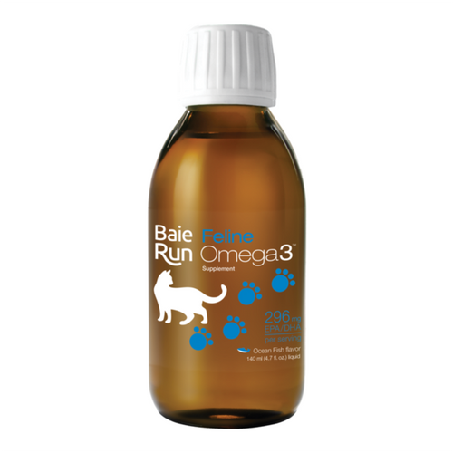 Baie Run: Feline Run Omega3 - Ocean Fish Flavour (140ml)