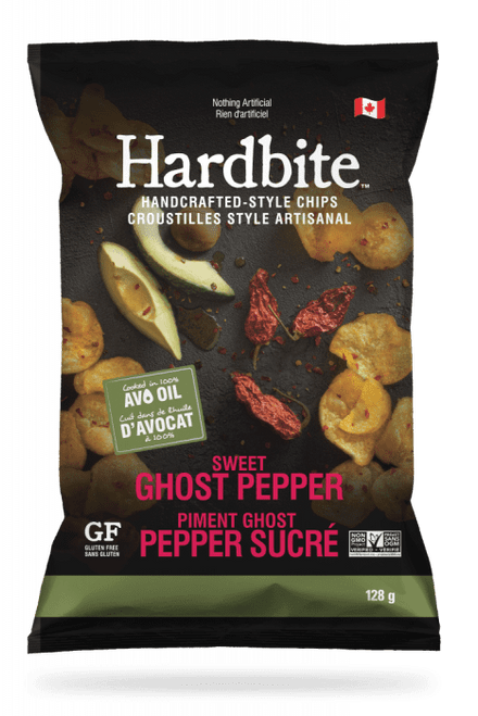 Hardbite: Avocado Oil Potato Chips - Sweet Ghost Pepper