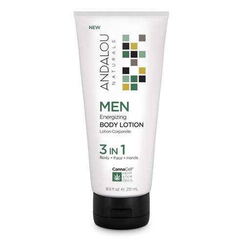 Andalou Naturals: MEN Energizing Body Lotion 3 IN 1 (251ml)