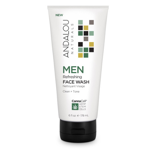 Andalou Naturals: MEN Refreshing Face Wash (178ml)