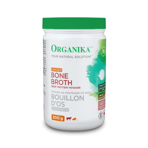 Organika: Beef Bone Broth Protein Powder - Ginger (300g)