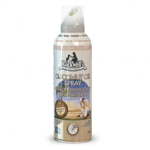 Rockwell's: Coconut Oil Spray (141ml)