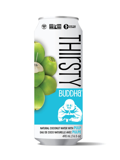 Thirsty Buddha: Coconut Water with Pulp (520ml)