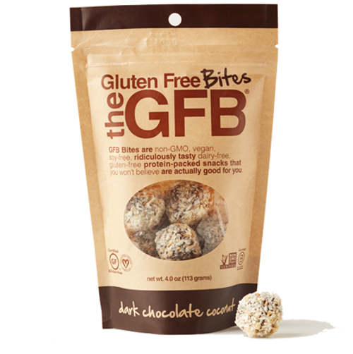 The GFB: Gluten Free Bites - Dark Chocolate Coconut