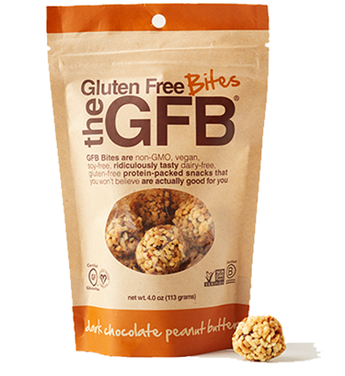 The GFB: Gluten Free Bites - Dark Chocolate Peanut Butter
