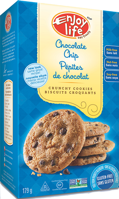 Enjoy Life: Chocolate Chip Crunchy Cookies (179g)