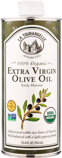 La Tourangelle: Organic Extra Virgin Olive Oil (750ml)