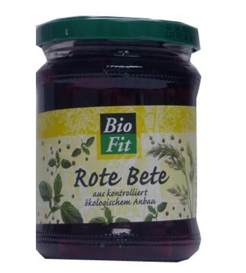 Bio Fit: Rote Bete (330g)