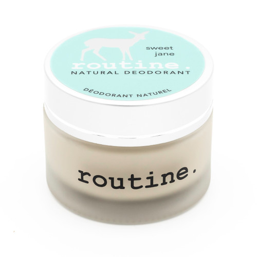 Routine: Natural Deodorant Cream - Sweet Jane