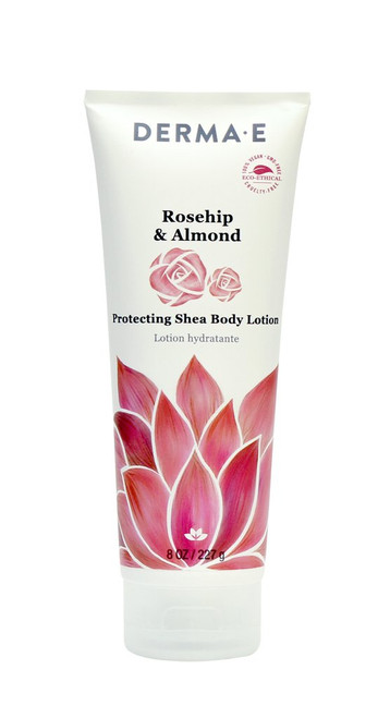 Derma E: Rosehip & Almond, Protecting Shea Body Lotion (227g)