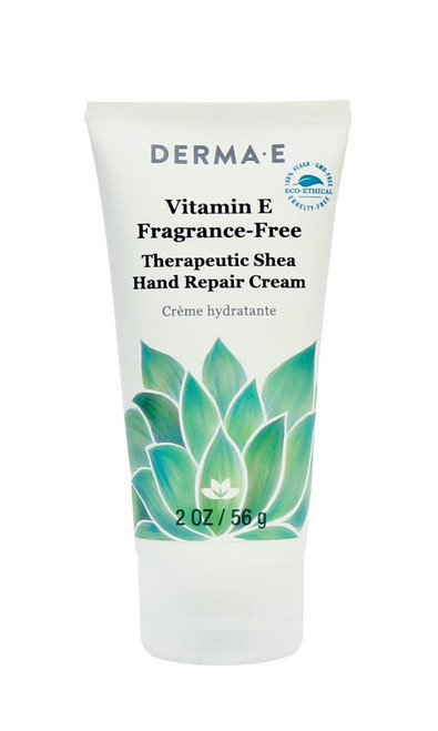Derma E: Vitamin E Fragrance-Free Therapeutic Moisture Shea Hand Cream (56g)