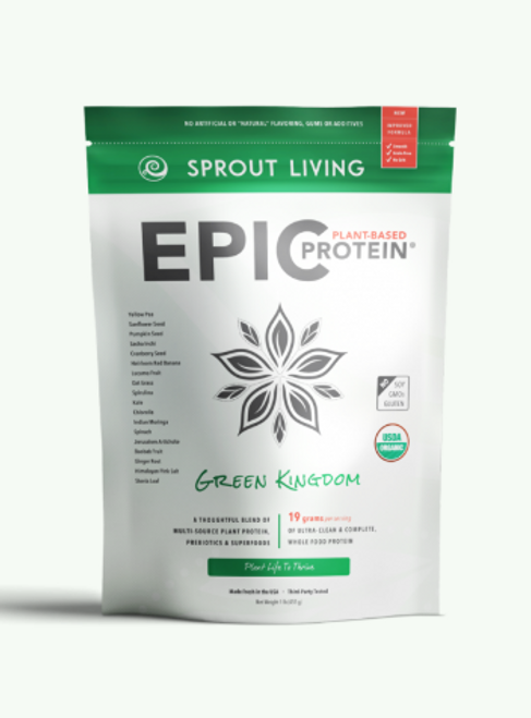 Sprout Living: Epic Plant-Based Protein - Green Kingdom(455g)