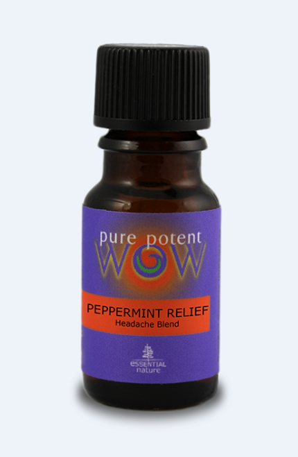 Pure Potent WOW: Peppermint Relief Headache Blend (12ml)
