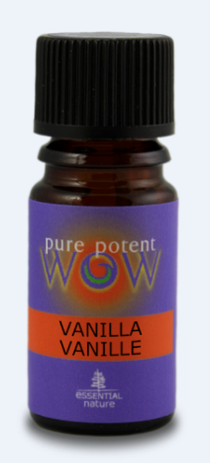 Pure Potent WOW: Vanilla 5% in Organic Jojoba Oil (5ml)