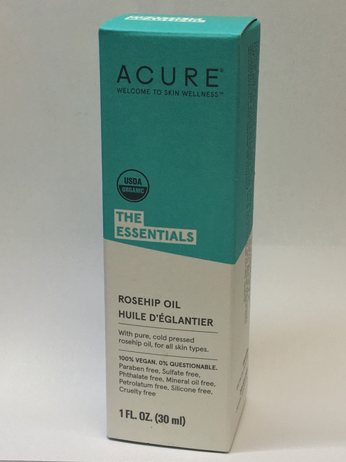 Acure: The Essentials Rosehip Oil (30ml)