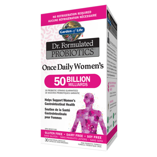 Garden of Life: Dr. Formulated Probiotics Once Daily Women's