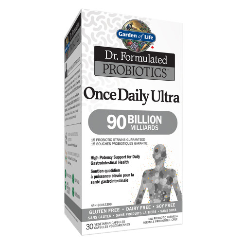 Garden of Life: Dr. Formulated Probiotics Once Daily Ultra